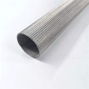 Sintered filter element candle filter high efficiency