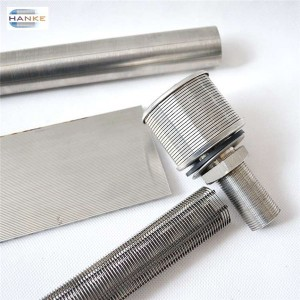 Wedge wire screen filter slot filter pipe valid in panel,basket,tube etc