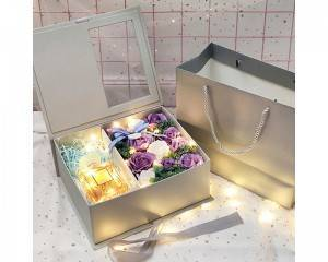 Ins Gift Box with Clear Window Valentine's day Gift Box