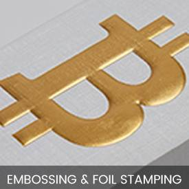 Embossing & Foil Stamping