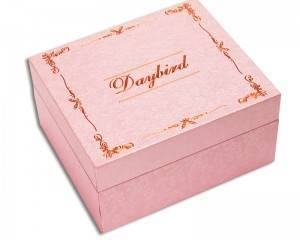 High End Luxury Custom Logo Printed Rigid Cardboard Paper Jewelry Packaging Velvet Lined Necklace Gift Boxes