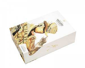 Custom printed logo luxury perfume book shaped boxes gift book shape box packaging die cut sponge for Perfume