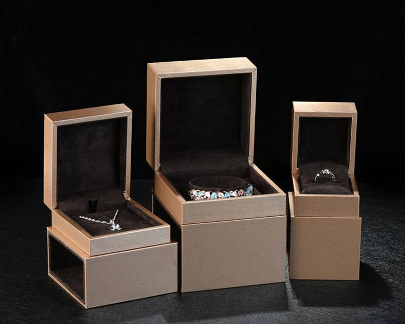 Wholesale Handmade Hard Rigid Cardboard Sliding Drawer Jewelry Packaging Box With Sleeve Featured Image