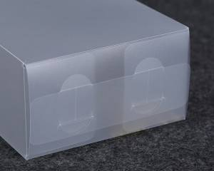 Custom logo printed eco recyclable pvc manufacturer clear plastic clear package box clear pet plastic boxes
