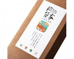 custom product coffee kraft paper bag packaging label digital printing waterproof synthetic paper sticker