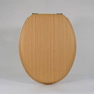 HJ-KJW026 Technology wood grain toilet seat