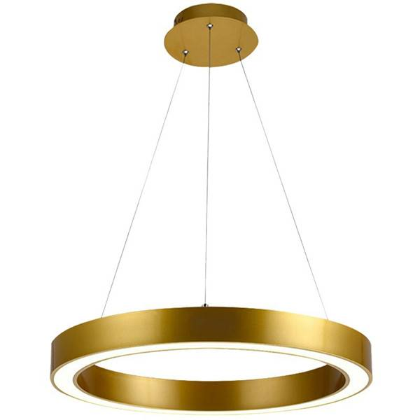 Gold Ring Pendant Lighting HL60L10 Featured Image