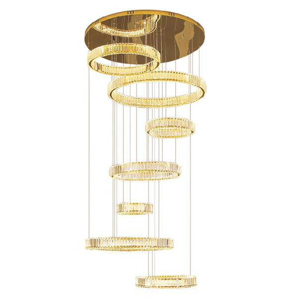 High Ceiling Stair Pendant light Featured Image