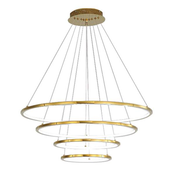 Modern Ring Pendant Light HL60L04-4 Featured Image
