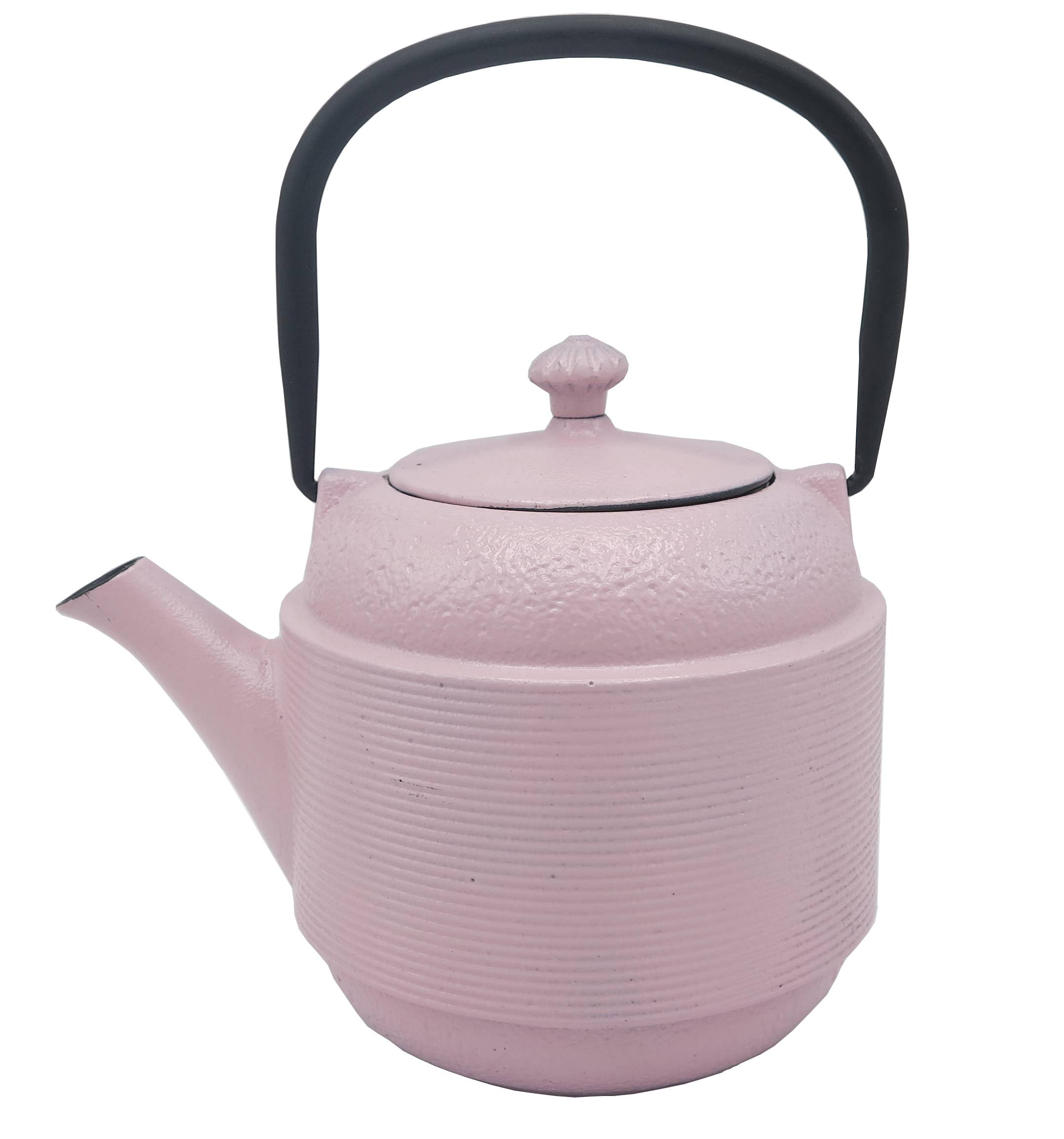 Metal Tea kettle 800ML cast iron enamel coated teapot