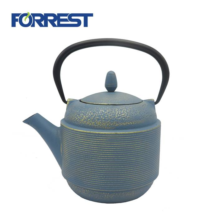 cast iron teapot with infuser water kettle  teapot cast iron 800ml
