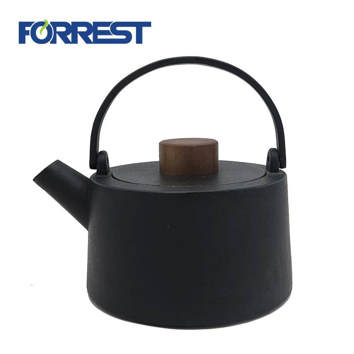 Black Cast Iron tea Kettle 1100ml japanese style teapot cast iron Featured Image