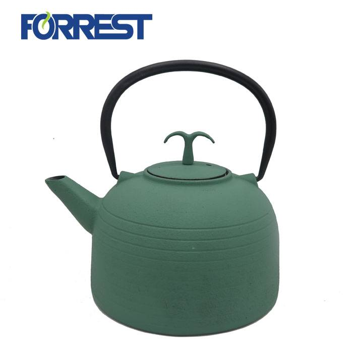 Enamel Tea Kettle cast iron metal teapot with Stainless Steel Infuser Featured Image