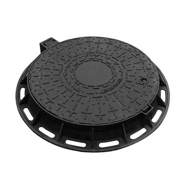 Round Ductile Iron Manhole Cover EN124 A15 B125 C250 D400 E600 F900 Featured Image