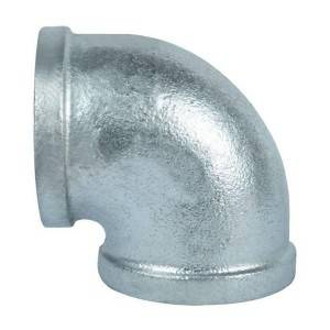 Hot Dipped Galv.Malleable Iron Pipe fittings with BS threads,Banded