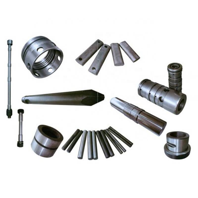 Spare parts of hydraulic breaker Inner bush and lower bush, front cover of SB81, Piston, Rod pin