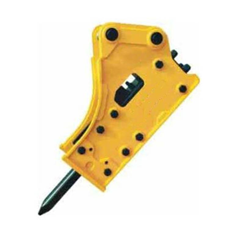 Side  type rock breaker  FURUKAWA hydraulic breaker model HB40G