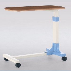 Movable over bed table F-32