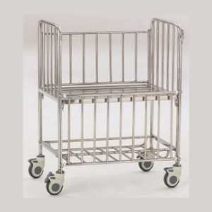 Stainless steel infant bed B-39
