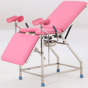 Stainless steel obstetric bed B-42-1