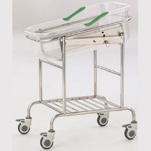 Stainless steel infant bed(Tiltable)  B-36