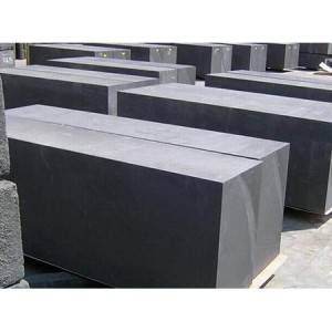 Graphite Blocks Extruded and Vibration with Fine Grains