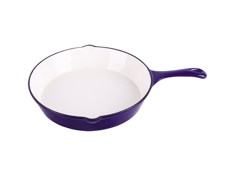 cast iron round enamel skillet Featured Image