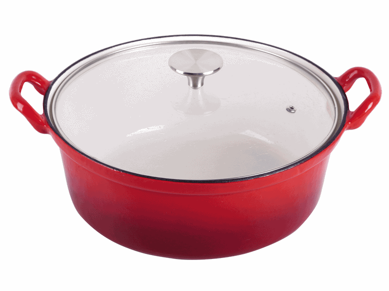 cast iron enameled cookware cooking pots