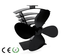 Alumiunm Alloy fireplace fans