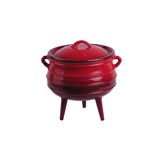 cast  iron enameled potjie pots