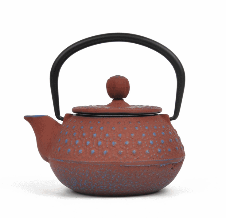 Cast iron teapot enameled Featured Image