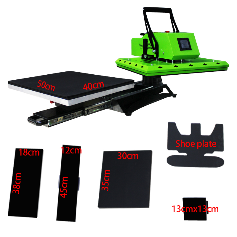 Auplex New Arrival 16X20″ 6 IN 1 Combo Rotary High Pressure Heat Press Featured Image