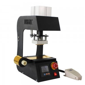 Pneumatic Hot Stamping Foil Printing Heat Press Embossing Machine