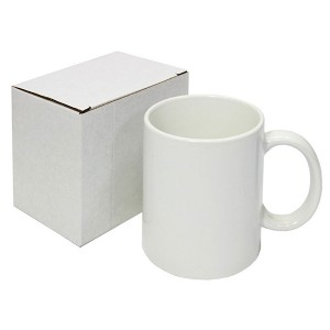 11OZ Sublimation White Mug Grade AAA