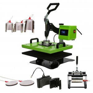 Auplex 8 IN 1 Combo Multi-functional Heat Press Machine