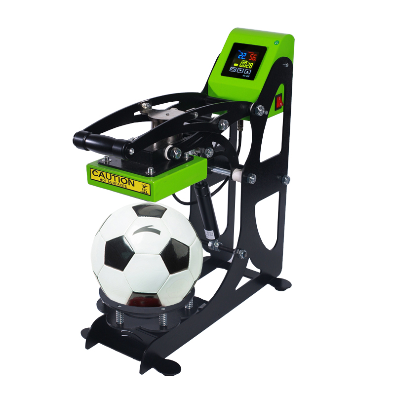 Auplex Auto Open Ball Heat Press Printing Machine for Football, Volleyball Featured Image