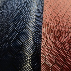 Colored Carbon Fiber Cloth