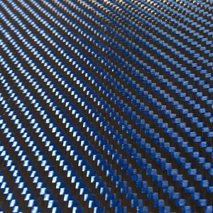 Carbon Kevlar Hybrid Fabric