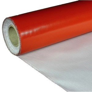 Red Silicone Rubber Fiberglass Cloth