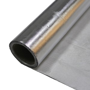 Aluminum Foil Coated Fiberglass Cloth