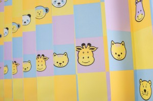Printed disposable curtains-Animal