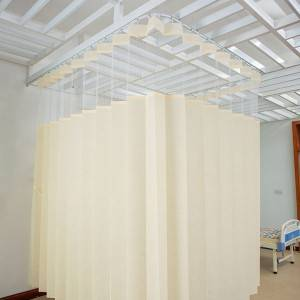 Mesh-top disposable curtains