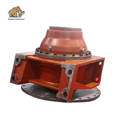 Special reducer for 2-6 cubic concrete mixer truck