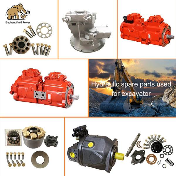 Kawasaki K3V series hydraulic piston pump