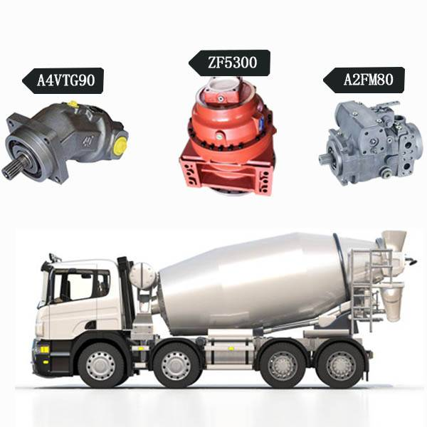 Maintenance of concrete mixer