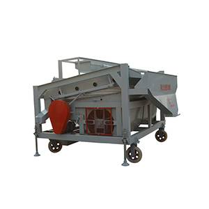 Single gravity table for beans/maize/wheat