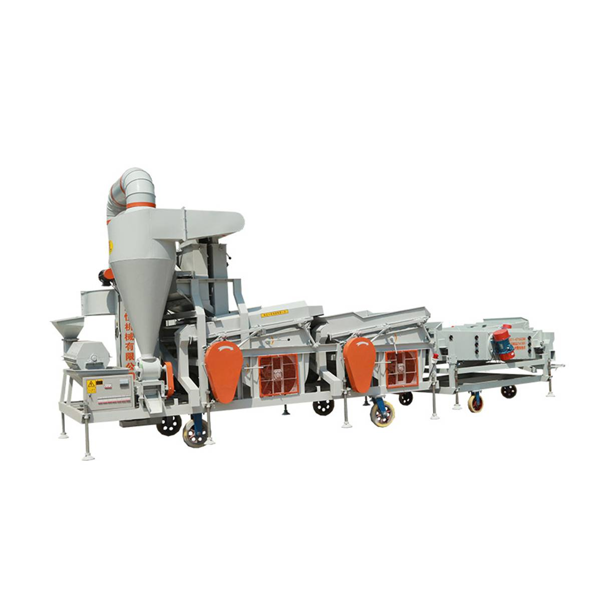 Grain Processing Machine With Wheat Sheller