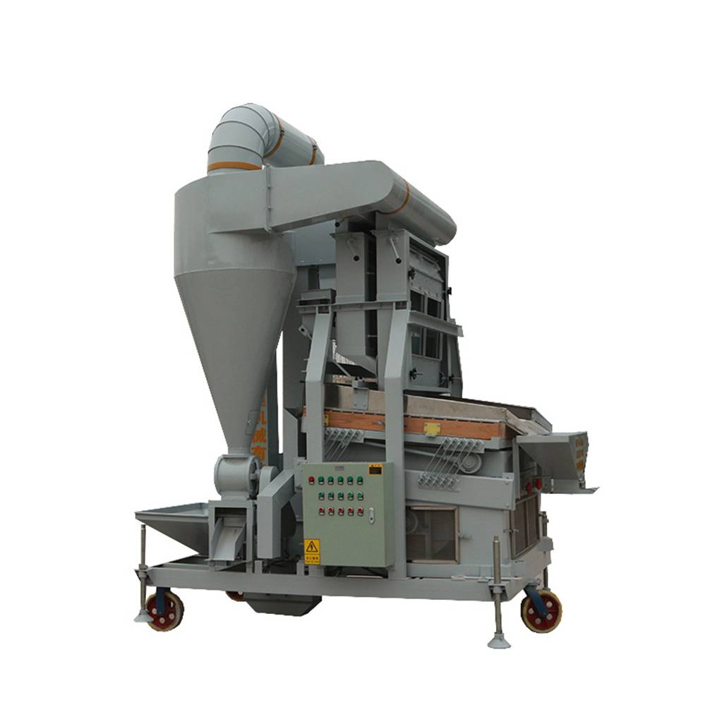 Grain Paddy Rice Wheat Destoner Machine(5XQS-2500M)