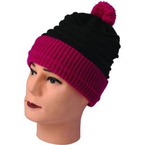 899-1: adult knitted hat with ball