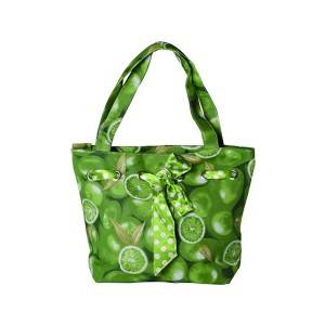 B0047: FLOWER BAG, HANGBAG,CANVAS BAG